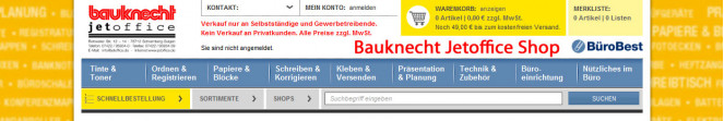 Soennecken Shop neu